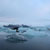 image of floating icebergs